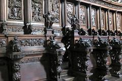 Interior of Chiesa San Giorgio Maggiore (Sokleine) Tags: sangeorgio church chiese église religion catholic culte masterpiece heritage venice venezia venise veneto italia italie italy eu unesco europe stalles wood boiseries sculptures