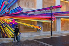 It's Behind You (Sean Batten) Tags: london england unitedkingdom newbondstreet streetphotography street colors color fujifilm x100f city urban