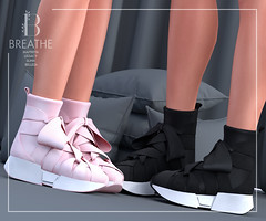 [BREATHE]-Ninako Sneakers ([Breathe]) Tags: daisaadmiral secondlife collabor88 breathe maitreya belleza tmp legacy slink c88 sneakers playgirl leather shop design