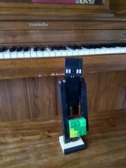 Lego Enderman (Random Brickster) Tags: lego enderman minecraft figure random randombrickster moc