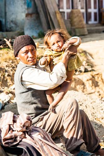 Habitants du Village de Kakani