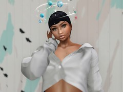 Stay with me (Shay/ Shaterica Wulluf) Tags: second life secondlife shaterica wulluf stay with me japanese music miki iconic short hair pseudo big eyes pukki backdrop city