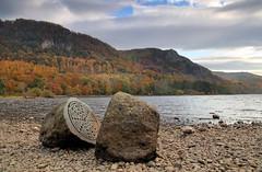 Millennium Stone (PJ Swan) Tags: lake district england cumbria hills autumn unesco britain uk sculpture