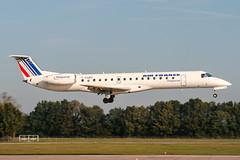 F-GUBD (PlanePixNase) Tags: aircraft airport planespotting haj eddv hannover langenhagen airfrance regional embraer 145 e145