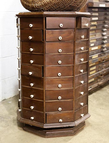 Hardware Parts Revolving Cabinet ($700.00)