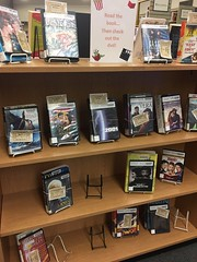 Read the book & Watch the movie (Santa Cruz Public Libraries) Tags: apt aptoslibrary aptosbranchlibrary aptosbranch aptosca aptospubliclibrary scpl santacruzpubliclibraries santacruz santacruzpubliclibrary library libraries bookdisplay books book display displays staffpicks