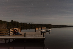 Moonlit Selfie (turknc) Tags: pettigrew state park creswell north carolina nightscape selfie nikon d5500 lake dock moonlit hat 1855mm f3556 outside nikkor landscape longexposure pier lakephelps