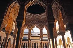 Palacios Nazaries, Alhambra, Granada (Niall Corbet) Tags: spain andalucia granada alhambra arch