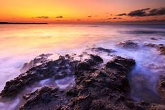 Amanecer (Juan Galián) Tags: spain sea seascape paisaje playa landscape litoral largaexposición longexposure amanecer water tokina canon60d costa coast cielo canon