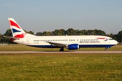G-DOCW (PlanePixNase) Tags: aircraft airport planespotting haj eddv hannover langenhagen british britishairways 737 737400 b734