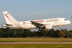 TS-IMJ (PlanePixNase) Tags: aircraft airport planespotting haj eddv hannover langenhagen airbus 319 a319 tunisair
