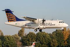 D-BLLL (PlanePixNase) Tags: aircraft airport planespotting haj eddv hannover langenhagen lufthansa regional atr42 contactair