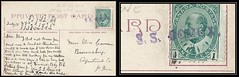 British Columbia / B.C. Steamship Postal History 18 July c. 1909 - St. Vincent Bay, B.C. (Suttons Lumber Camp) via Steamship / S. S. Comox (straight line cancel / postmark) to Brownsburg (Argenteuil County), Quebec (Sutton correspondence) (S-221) (Treasures from the Past) Tags: circulardatestamp postalwayoffice postmaster postoffice britishcolumbia postalhistory bc county splitring brokencircle splitcircle postmark cancel cancellation marking son mail letter stamp canada britishcolumbiapostalhistory canadapost steamship sscomox alicesutton albertalexandersutton matthewsutton suttonscamp stvincentbay suttoncorrespondence loggingcamp