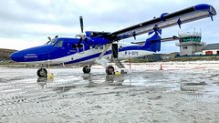 IMG_7966 (Invincible Moose) Tags: hial barra beach airport runway sea dhc6 twinotter viking400 loganair