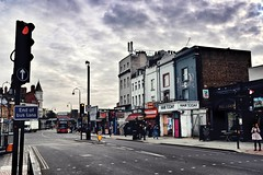 Kentish Color (marc.barrot) Tags: x100f urbanlandscape uk nw5 london kentishtown highgateroad