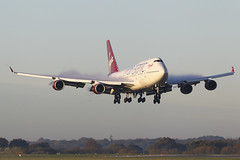 G-VXLG Boeing 747 41R Virgin Atlantic Airways (Barry Swann) Tags: virginatlanticairways boeing747 b747 heavy jumbo jumbojet seattle everett landing finals steam fluff condensation man manchester manchesterairport manchesterinternationalairport mag longhaul canon canoncamera sigma sigmalense 1dmk1v gvxlg