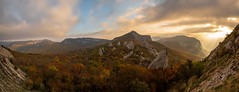 Tyshlar Rocks (gubanov77) Tags: panorama crimea tyshlarrocks ilyaskaya laspi mountains nature autumn nationalgeographic tourism topview tyshlar sky clouds travelphotography travel landscape
