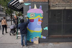 Joey D. #sohohouse (drew*in*chicago) Tags: chicago art artist paint painter 2019 street spray cityscape