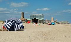 umbrella (BehindBlueEyes) Tags: newjersey nj oceangrove shore jerseyshore beach monmouthcounty
