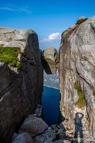 Kjeragbolten Lysefjord Norwegia