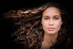 DSCF3651-5 (YouOnFoto) Tags: wind girl meisje woman vrouw portret portrait closeup dichtbij daglicht natural light lowkey hair haar eyes ogen intens intense fujifilm xtt20 bestportraitsaoi elitegalleryaoi