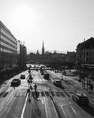 Vasagatan 2019-11-07 (Michael Erhardsson) Tags: stockholm svartvitt 2019 black white instagram