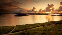 Donegal Bunbeg Sunset (Kevin_Barrett_) Tags: ireland connemara bunbeg bádeddie sea seascape serene scenery scenic sky sunset clouds beach dramatic