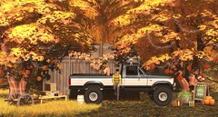 ATE-Harvest Festival (Taven Verne) Tags: secondlife slevents secondlifedecor secondlifeevents allthingsevents shamanhut nnr amf nekotron tsb pixlposes storaxtree dd tt