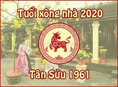 Chọn tuổi xông đất đầu năm mới 2020 tuổi Tân Sửu 1961 kích tài vận (Tử vi vận số) Tags: tuổi sửu xông đất năm 2020 tân 1961 nhà xem