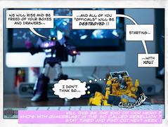 Page_22 (FunToysFan) Tags: transformers toyphotography toystory toys toyphoto toy takara autobots masterpiecetransformers hasbro lazerbeak digitalcomics designart decepticons mixedmedia sunstreacker shockwave robots g1 popart