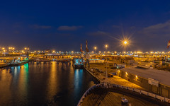 the Port of Ashdod at night  #1 (Peter.Stokes) Tags: awayfromitall boats colour colourphotography cruise cruise2019 history holiday israel jerusalem jetty landscape night nightpanorama ocean outdoors photo photography saltwater sea ship signs transport vacations water portofashdod ashdod