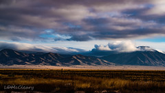 Sunlight and Shadows on Manzano Mountains (LDMcCleary) Tags: