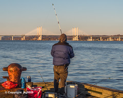 Piermont Fishing Pier on the Hudson River, Piermont, New York (jag9889) Tags: 2019 20191106 cablestayed fisher fishingpier hudsonriver k893 mariomcuomobridge ny newnybridge newyork outdoor people piermont river rocklandcounty tappanzee tappanzeebridgereplacement tarrytown usa unitedstates unitedstatesofamerica water waterway westchestercounty jag9889