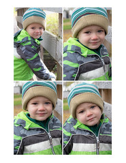 Peter! (NetAgra) Tags: toddler portrait child winter expression kid two face park boy cold