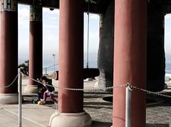Friendship Bell. (purefunk714) Tags: sanpedro fujinon 35mm fujicolor koreanfriendshipbell california fujifilmxt30 siblings