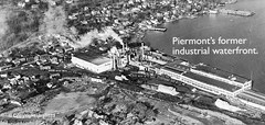 Piermont's former industrial waterfront, Piermont, New York (jag9889) Tags: 2019 20191106 bw blackandwhite hudsonriver industry monochrome ny newyork outdoor photograph piermont river rocklandcounty usa unitedstates unitedstatesofamerica water waterfront waterway jag9889