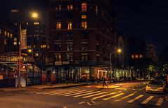 New York (KennardP) Tags: canoneosr sigmaartlens sigma24mmf14dghsmartlens cityatnight citylights nightlights nightphotography night newyork newyorkcity manhattan nyc lights apartmentbuildings windows cars road