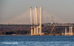 Governor Mario M. Cuomo Bridge on the Hudson River, Tarrytown, New York (jag9889) Tags: 2019 20191106 cablestayed hudsonriver k893 mariomcuomobridge ny newnybridge newyork outdoor piermont river rocklandcounty tappanzee tappanzeebridgereplacement tarrytown usa unitedstates unitedstatesofamerica water waterway westchestercounty jag9889