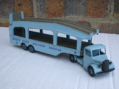 Vintage 1950's Dinky Toys Bedford Pullmore Car Transporter Light Blue & Fawn (beetle2001cybergreen) Tags: vintage 1950s dinky toys bedford pullmore car transporter light blue fawn