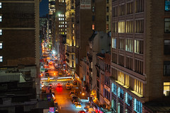 28th St West Night (fate atc) Tags: 28thst chelsea manhattan newyork buildings city earlymorning frommidtown lights nightphotography skyline