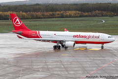 TC-AGF - Airbus A330-203 - AtlasGlobal (MikeSierraPhotography) Tags: a330 air airbus airlines airport atlasglobal cgn cgneddk cologne country deutschland germany köln manufacturer plane spotting town tcagf a330203 aircraft fotografie flugzeug aviation spotter flieger planespotting planespotter fliegerei kölnbonnairport eddk flughafen konradadenauerairport aeroporto aeropuerto airplane luchthaven planes vliegtuig