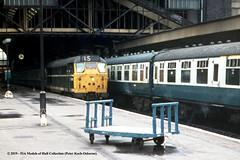 c.1969 - London (Kings Cross). (53A Models) Tags: britishrail brush type2 class31 diesel passenger kingscross london train railway locomotive railroad