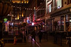 Cleveland Streets at Night #2 (wx412) Tags: cleveland ohio unitedstatesofamerica