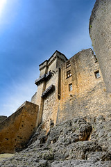 The ramparts of castelnaud castle in the Perigord in France (gilles-B) Tags: old travel blue summer sky france color colour building tower castle heritage history tourism vertical stone wall architecture century french landscape outside outdoors photo ancient scenery europe exterior view fort outdoor antique military famous country scenic culture nobody dordogne nopeople landmark tourist medieval architectural historic photograph ramparts historical walls castelnaud fortification chateau fortifications past bastion picturesque region protection fortress chapelle rampart perigord fortified southwestfrance aquitaine aquitane castelnaudlachapelle dordognevalley aquitainelimousinpoitoucharentes nouvelleaquitaine