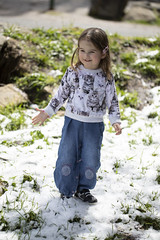 delight (louisa_catlover) Tags: portrait family child toddler daughter tabitha tabby mtdonnabuang warburton melbourne victoria australia snow spring
