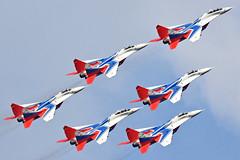 Swifts Aerobatic Team (Nils Mosberg) Tags: maks2019 zhukovsky teamstrizhi swiftsaerobaticteam mig29fulcrum