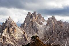 Cadini of Misurina (Daniele Bisognin) Tags: dolomiti dolomites mountains italy cadini misurina sunset nikon sky clouds
