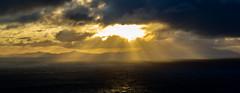 The Outer Hebrides from Neist Point. (gavin446) Tags: hebrides outerhebrides light sunset sea cloud sun storm skye coast scotland boat hills brooding neistpoint