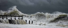 Lots of energy here (Peter H 01) Tags: energy seascapes hayling seadefences surf waves storms