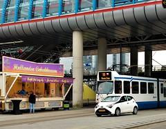 Sloterdijks eeh... (Peter ( phonepics only) Eijkman) Tags: amsterdam city bn trapkar gvb tram transport trams tramtracks trolley rail rails strassenbahn streetcars nederland netherlands holland